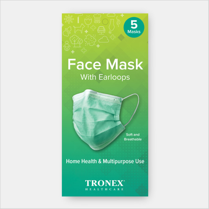 Tronex Procedure Face Mask
