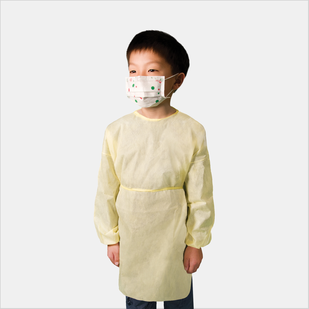 Child disposable gowns