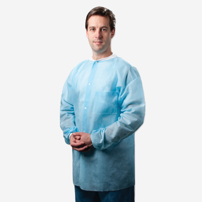 disposable midlength labcoats